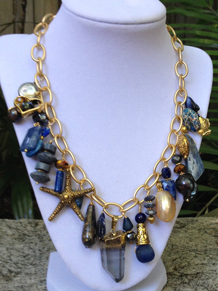 SOLD – Blue & Gold Special Treasure