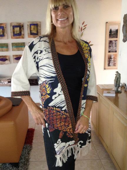 Cherie Ketchum fish jacket