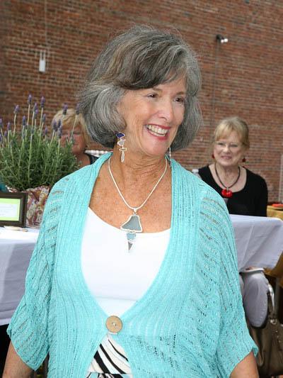 Jill H. in Arts Brunch & Fashion Show