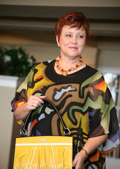 Mary Ann B. in Celebrity Fashion Show