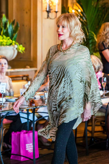 Vicki H. in Sophisticated Strut for Center for Building Hope