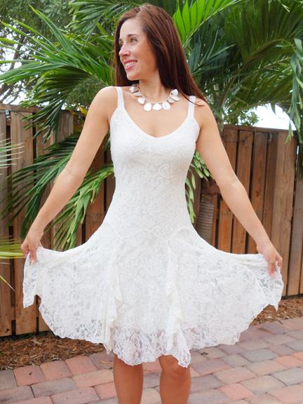 L181 Short Dress w straps