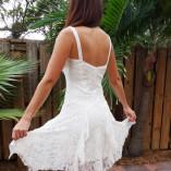 L181 short dress back