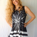 BW Line Floral tunic2