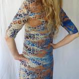Blue-copper dress#3