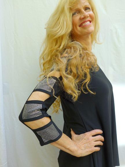 PW Black Jeweled Tunic#2