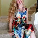 Pretty Woman Tiered Dress