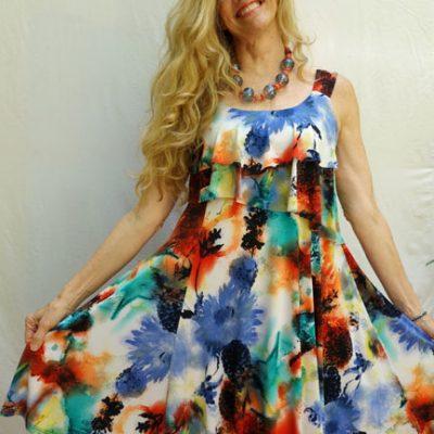 Pretty Woman Tiered Dress #2