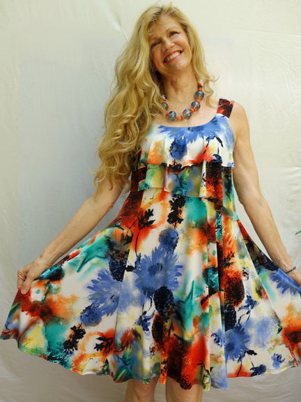 Pretty Woman Tiered Dress #2