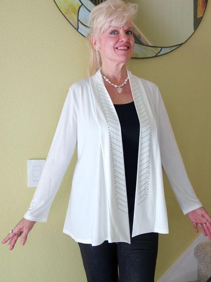 White & gemstone jacket5